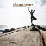 Yoga en la playa. Kiffemybody